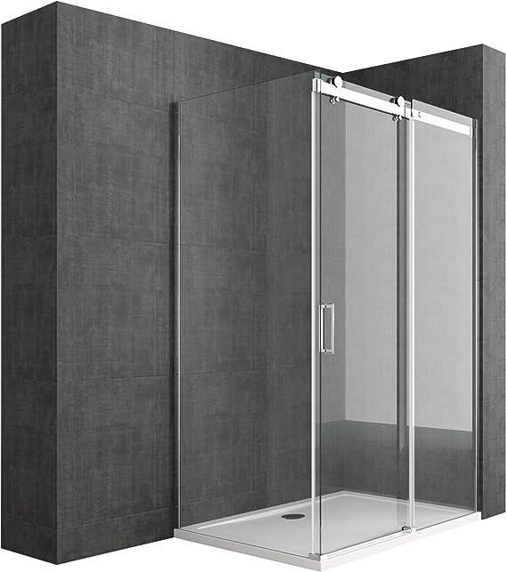 Sogood: Cabina de ducha diseño Ravenna17, 75x105x195cm, mampara de ...