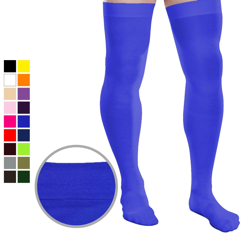 Chris& Je Mens Mid-Calf Long Socks 19 Colors