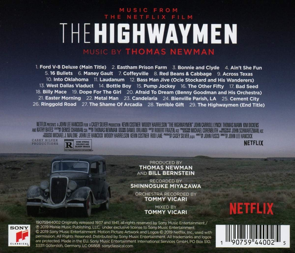 The Highwaymen (Music From The Netflix Film): Thomas Newman: Amazon