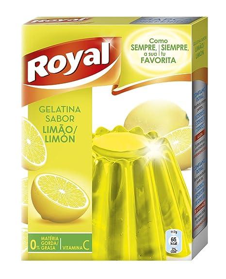 Royal - Gelatina Limon, 170 g - [pack de 3]