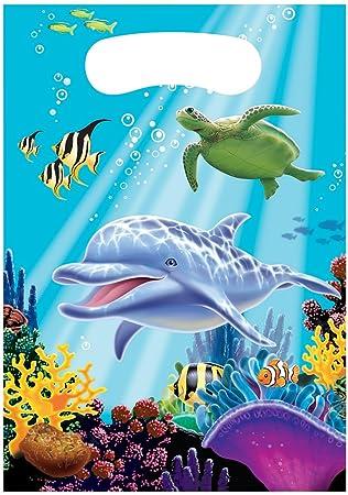 8 Bolsas De Fiesta OCEAN fiesta para Cumpleaños Niños y ...