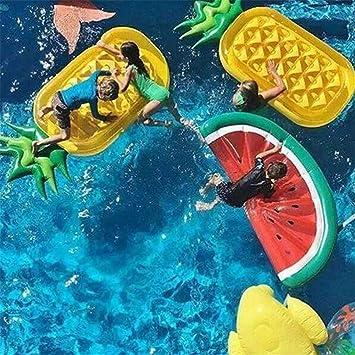 Amazon.com: Flotador hinchable, flotador circular de sandía ...