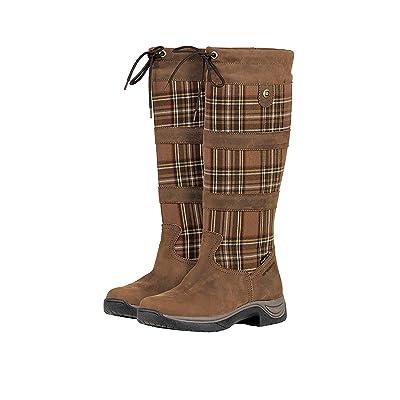 Amazon.com : Dublin Ladies River Plaid Boots 8.5 : Sports & Outdoors