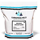 Cairnspring Mills Organic Expresso Bread Flour | Artisan Organic Bread Flour Stone Milled and Single Varietal | Used by the w