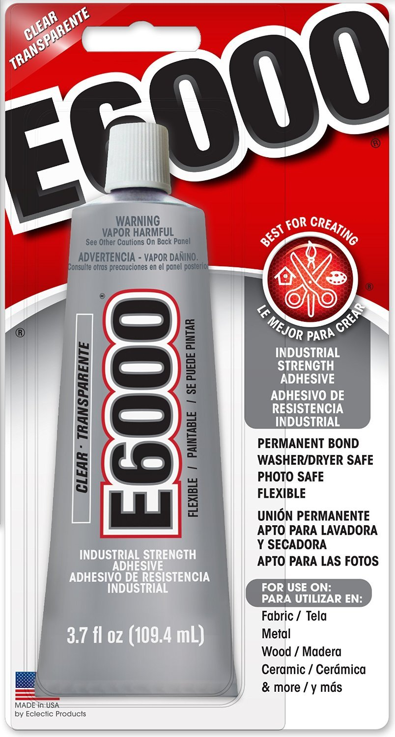 E6000 230010 Craft Adhesive, 3.7 Fluid Ounces Eclectic Products Inc.