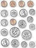 Creative Teaching Press Coins Stickers (4128)