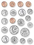 Amazon Price History for:Creative Teaching Press Coins Stickers (4128)