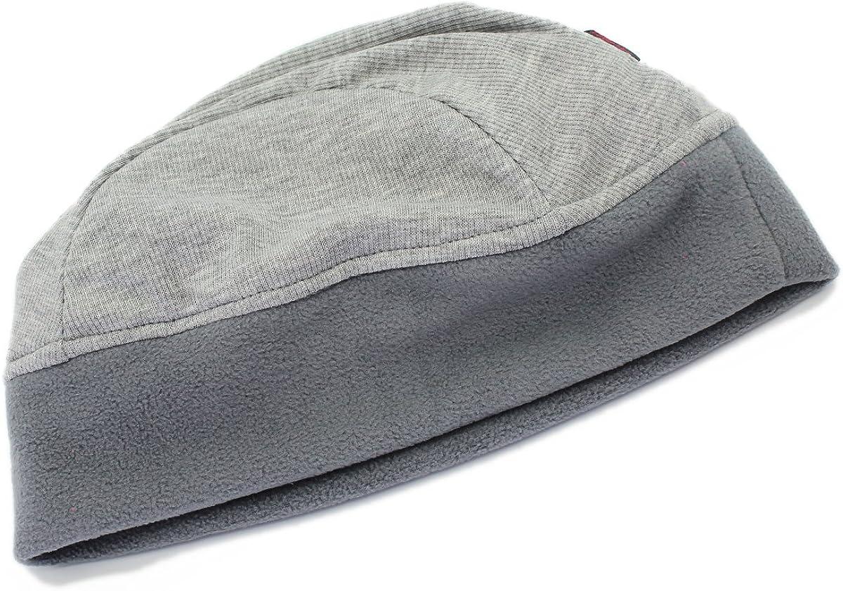 outfly Unisex Skullcap Polar Fleece Skullies Cap Beanie Hats Cotton Liner Men and Women Winter Hat