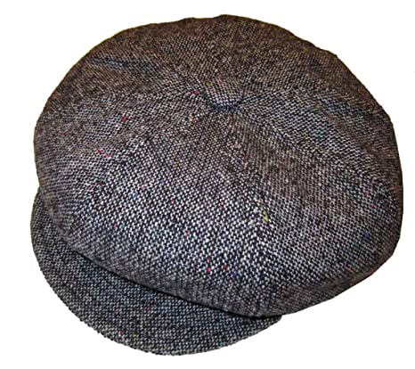 Amazon.com  New York Hat Co. Wool Tweed Spitfire Cap  Clothing efb568fc97c1
