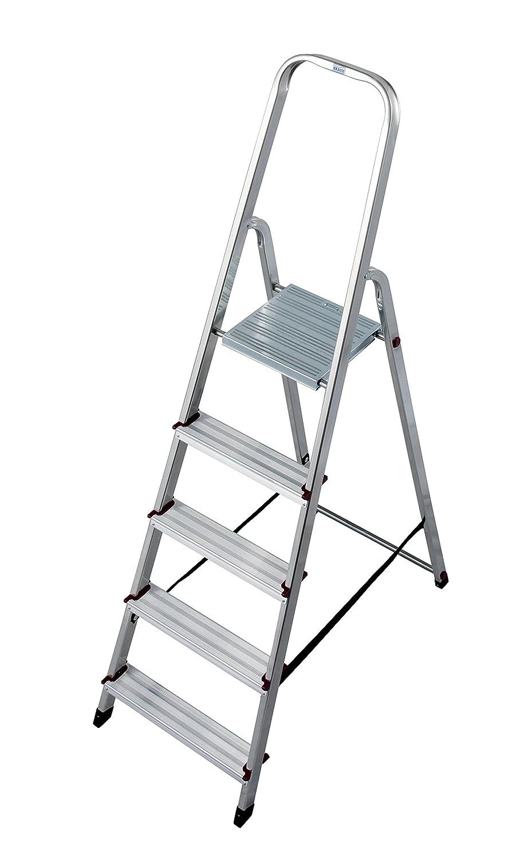 LASA729 Escalera de Tijera Simples, 5 Peldaños: Amazon.es: Industria, empresas y ciencia