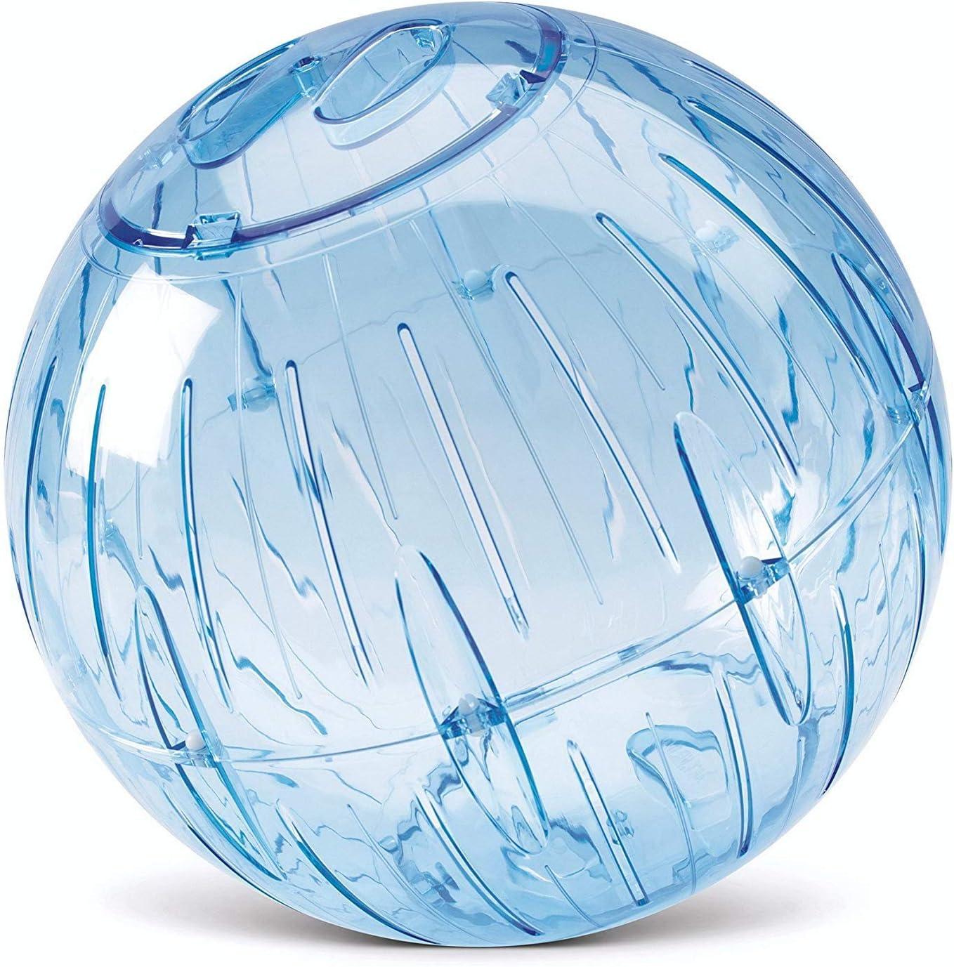 Crystal, Blue 2 Pack Ruosaren Hamster Run Exercise Ball 5.7 inch