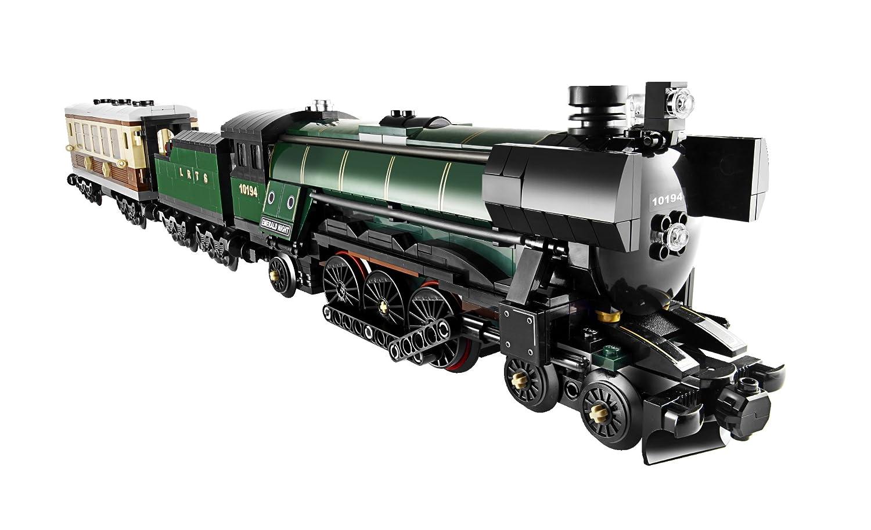 Amazon.com: LEGO Creator Emerald Night Train (10194): Toys & Games