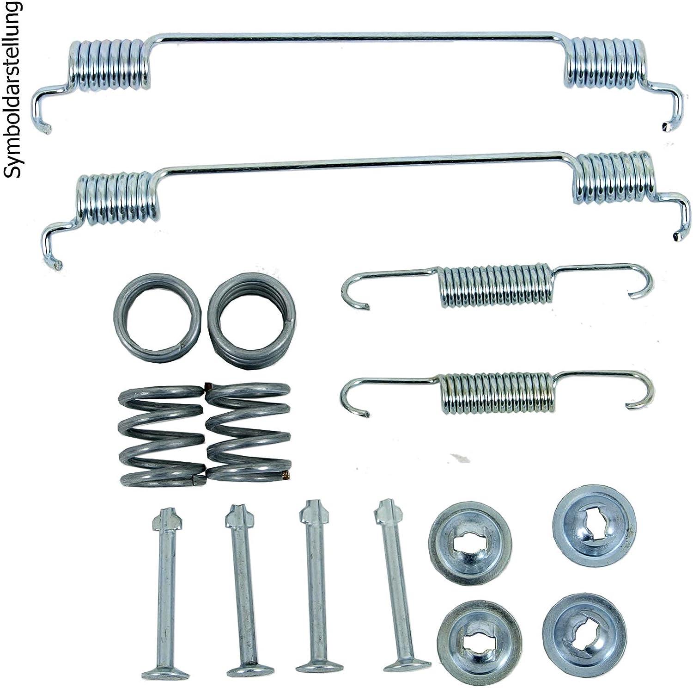 Montagesatz hinten Hinterachse Bremsbackensatz 2 Bremszylinder