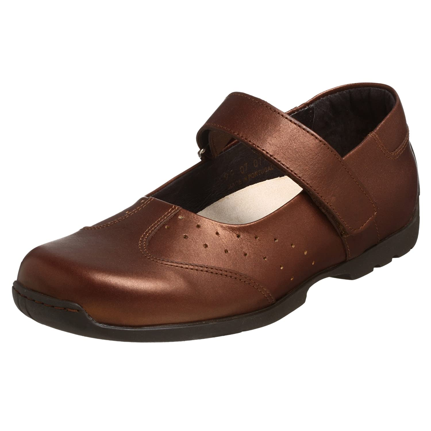 FOOTPRINTS Women's Pittsburg Mary Jane Dark Gold
