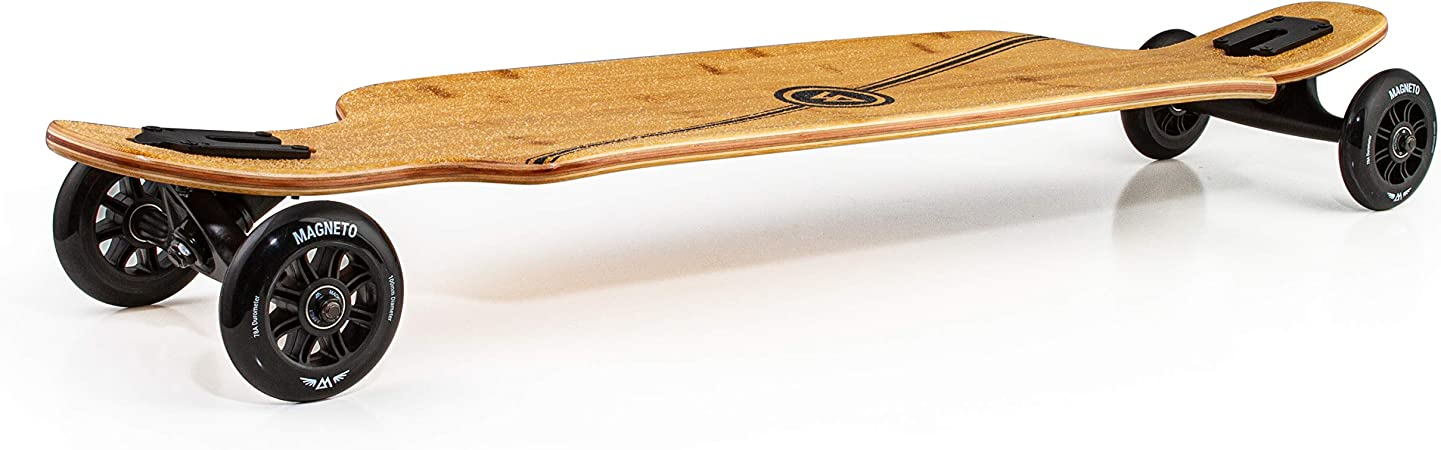 Large 100mm Wheels Bamboo with Hard Maple Core Glider Collection Longboard Skateboards