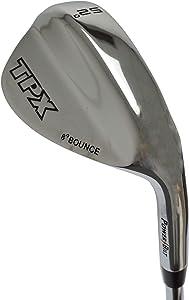 PowerBilt Unisex's TPX Wedge, Silver, 52°