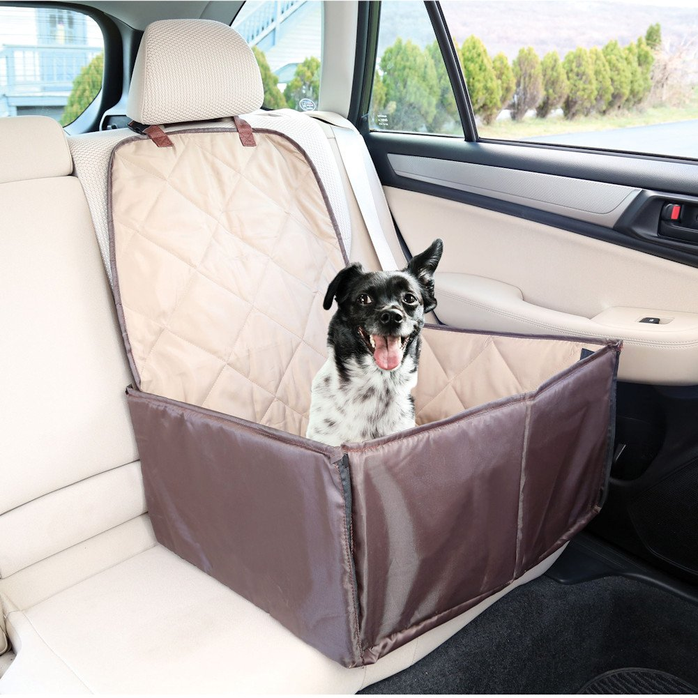 Etna Bucket Seat Cover Pet Booster Car Seat - Cat Dog Auto Travel Safety - Waterproof
