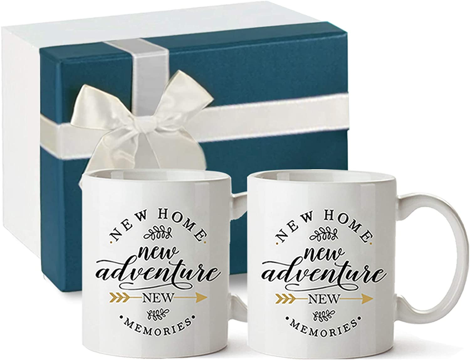 New Home New Adventure New  Memories housewarming gifts for new home owners mugs.