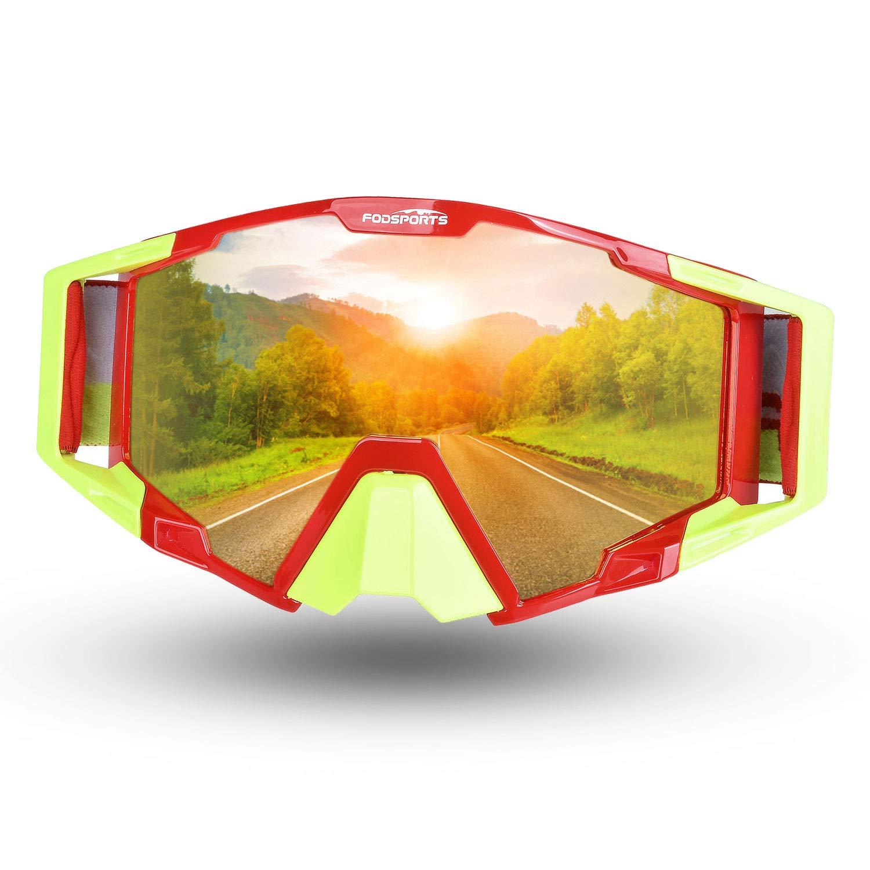 Fodsport Conductores de motocicletas gafas hombre / Gafas de Motocross XL QM00017A2