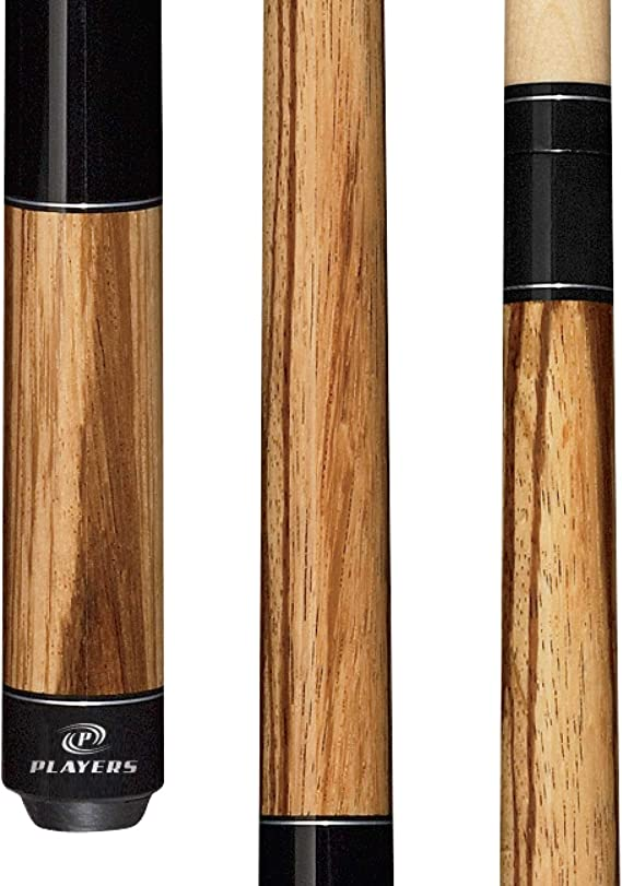 Players Exotics E-5100 Zebrawood and Birds-Eye Maple Sneaky Pete Cue