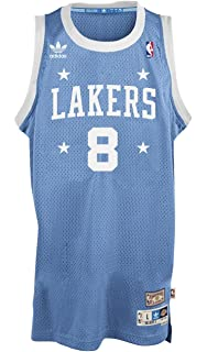 581394fc adidas Kobe Bryant Los Angeles Lakers Light Blue Throwback Swingman Jersey