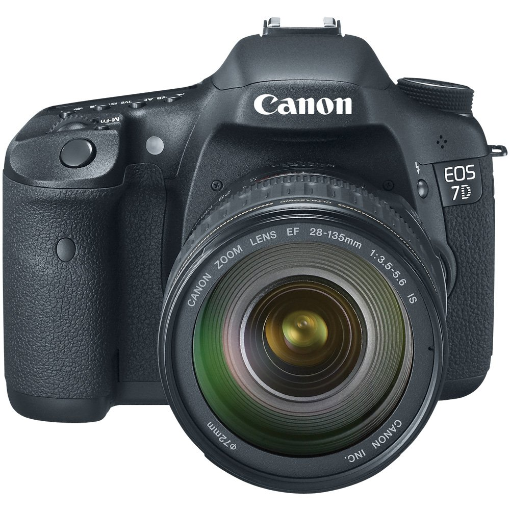 Camera Canon Dslr Camera For Video amazon com canon eos 7d 18 mp cmos digital slr camera with 28 135mm f3 5 6 is usm lens discontinued by manufacturer camera