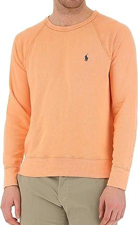 Polo Ralph Lauren Sudadera Knit Naranja Hombre L Naranja: Amazon ...