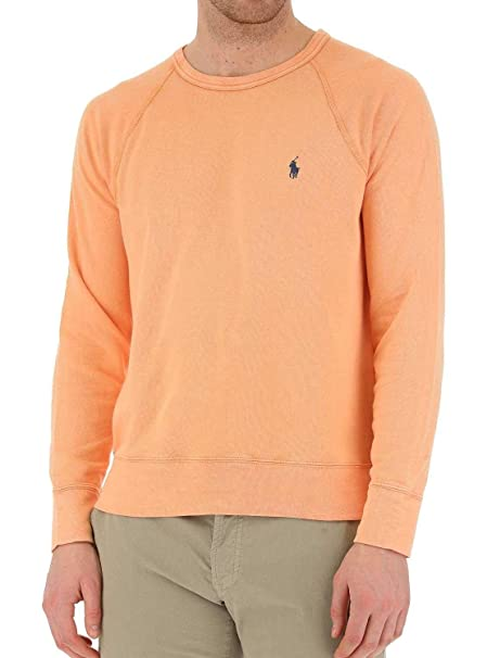 Polo Ralph Lauren Sudadera Knit Naranja Hombre L Naranja: Amazon.es: Ropa y accesorios