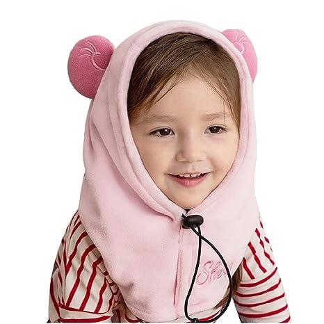 TRIWONDER Kids Fleece Passamontagna Maschera per Maschera da Sci a Clima  Freddo Inverno cap Antivento Neck 8187d67a8a1b