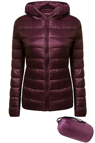 online store e1411 68abb Yidarton Damen Daunenjacke Steppjacke Ultra Leicht Übergangsjacke  Daunenmantel Raeumungsverkaufe