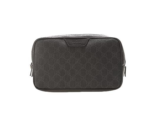 d7d6ab76a22 Gucci Men s 368556KGDHR1078 Black Leather Beauty Case  Amazon.co.uk ...