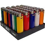 Confezione n.50 Accendini Accendino Bic J23 Slim in Colori Assortiti