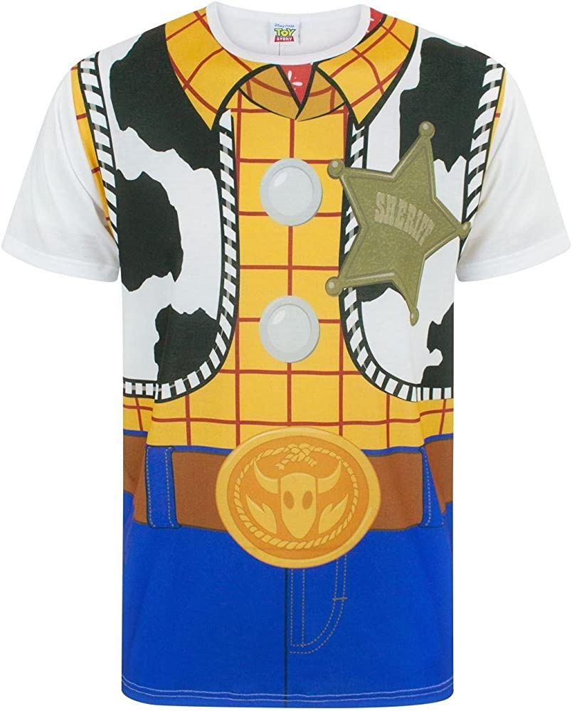 Disney Toy Story Woody Costume Mens T-Shirt (M): Amazon.es: Ropa ...
