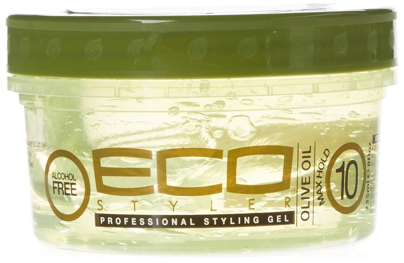 Eco Style Olive Oil Gel, 8 Ounce Atlas Ethnic ECOOLV08