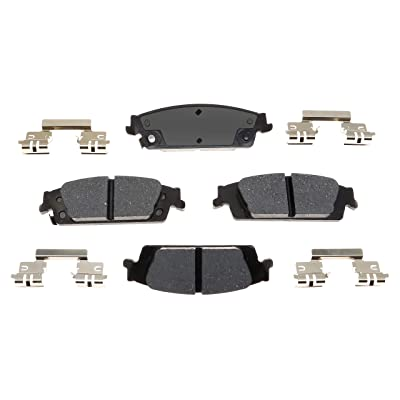 ACDelco 17D1707CH Professional Ceramic Rear Disc Brake Pad Set: Automotive