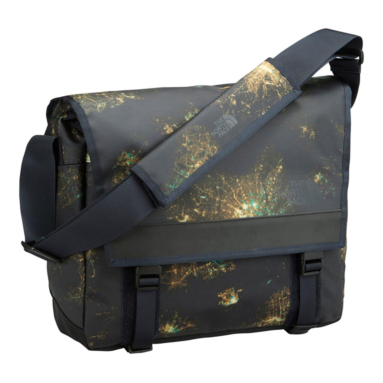 [ザノースフェイス] ショルダーバッグ BC Messenger Bag M NM81703 B073S3CQ74 ナイトライトプリント ナイトライトプリント