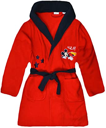 Disney Boys Mickey Mouse Dressing Gown