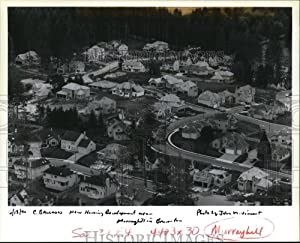 Vintage Photos 1990 Press Photo Homes Built at Columbia Willamette Development Co.'s Murrayhill
