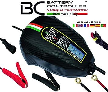 BC Battery Controller 700BC9000EP Cargador Mantenedor Digital/LCD, Comprobador Alternador para Todas Las baterías de Coche, Moto, Caravana, RV y Barco ...