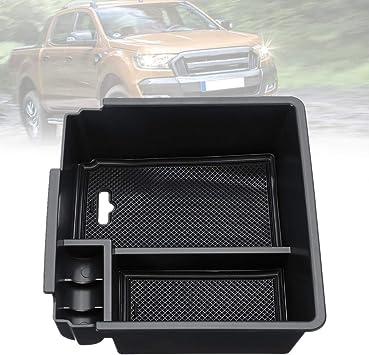 Jennifer Auto Mittelkonsole Armlehne Aufbewahrungsbox Handschuhfach Halter Für Ford Ranger T6 16 18 Auto