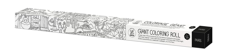 chic OMY COLO02 - Póster rollo gigante para colorear - Omy Poster ...