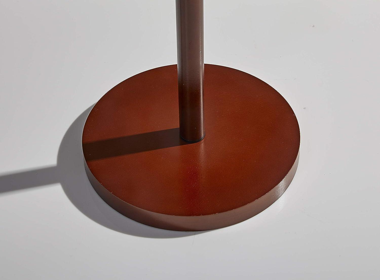 Adesso 3338-15 Hamptons Floor Lamp Smart Outlet Compatible 65 Walnut 65