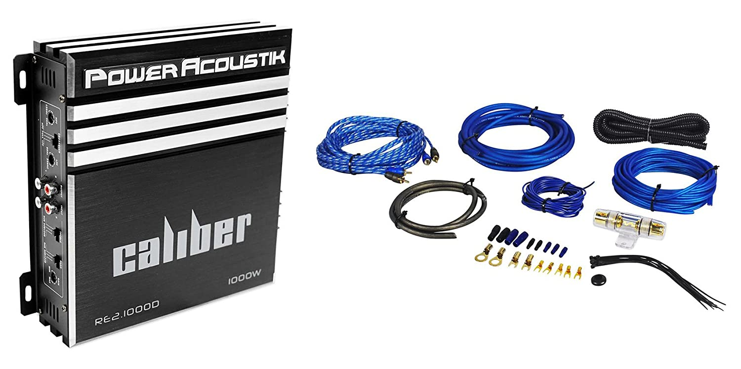 Amazon.com: Power Acoustik RE2-1000D 1000 Watt 2-Channel Car Audio on
