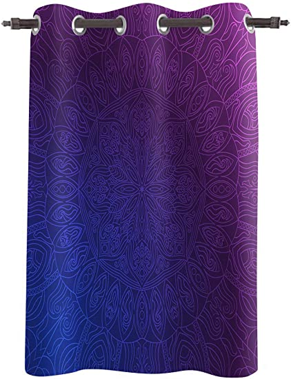 FortuneHouse8 Thermal Insulated Blackout Curtain