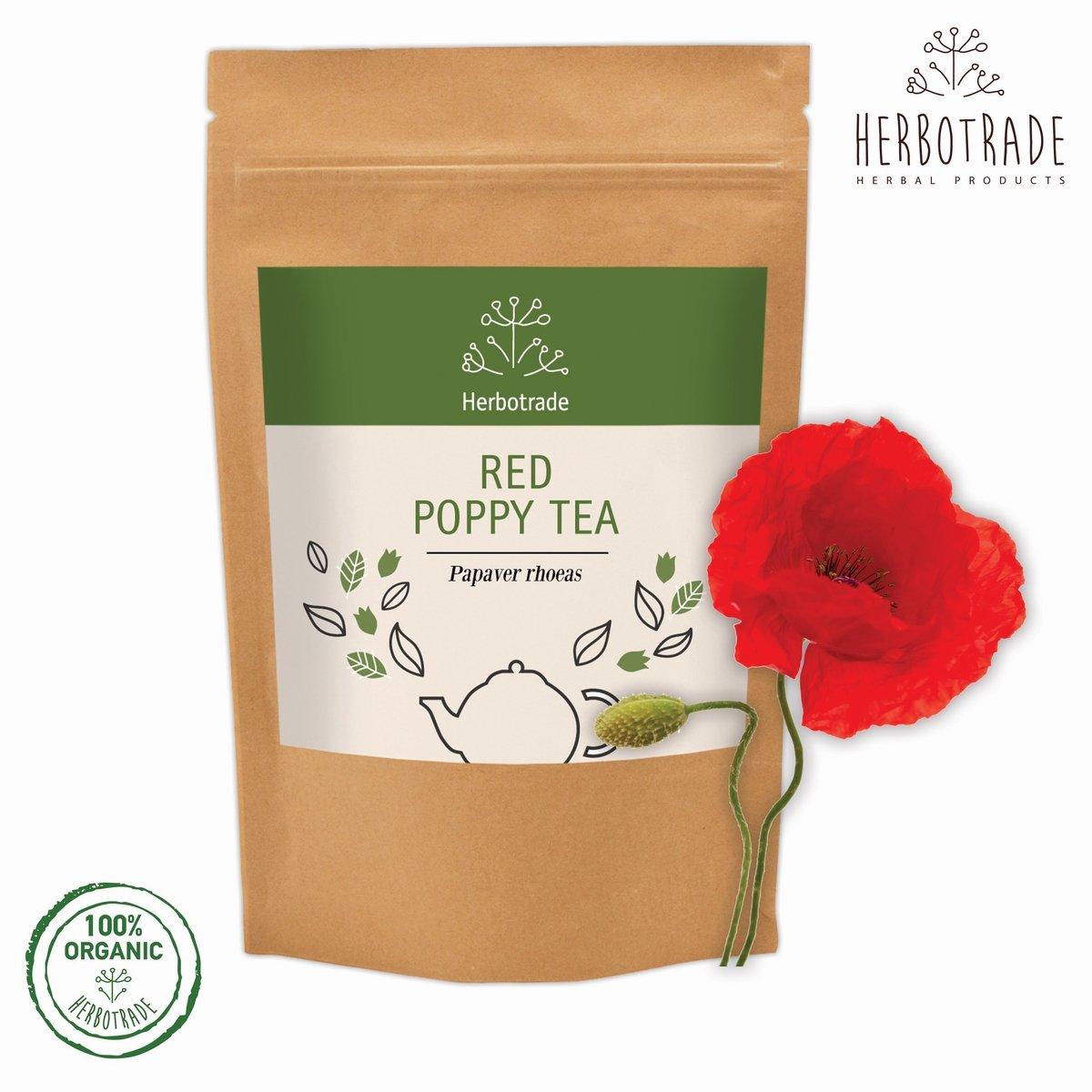 Amazon Red Poppy Seeds Papaver Rhoeas Dried Tea Loose 3 Oz
