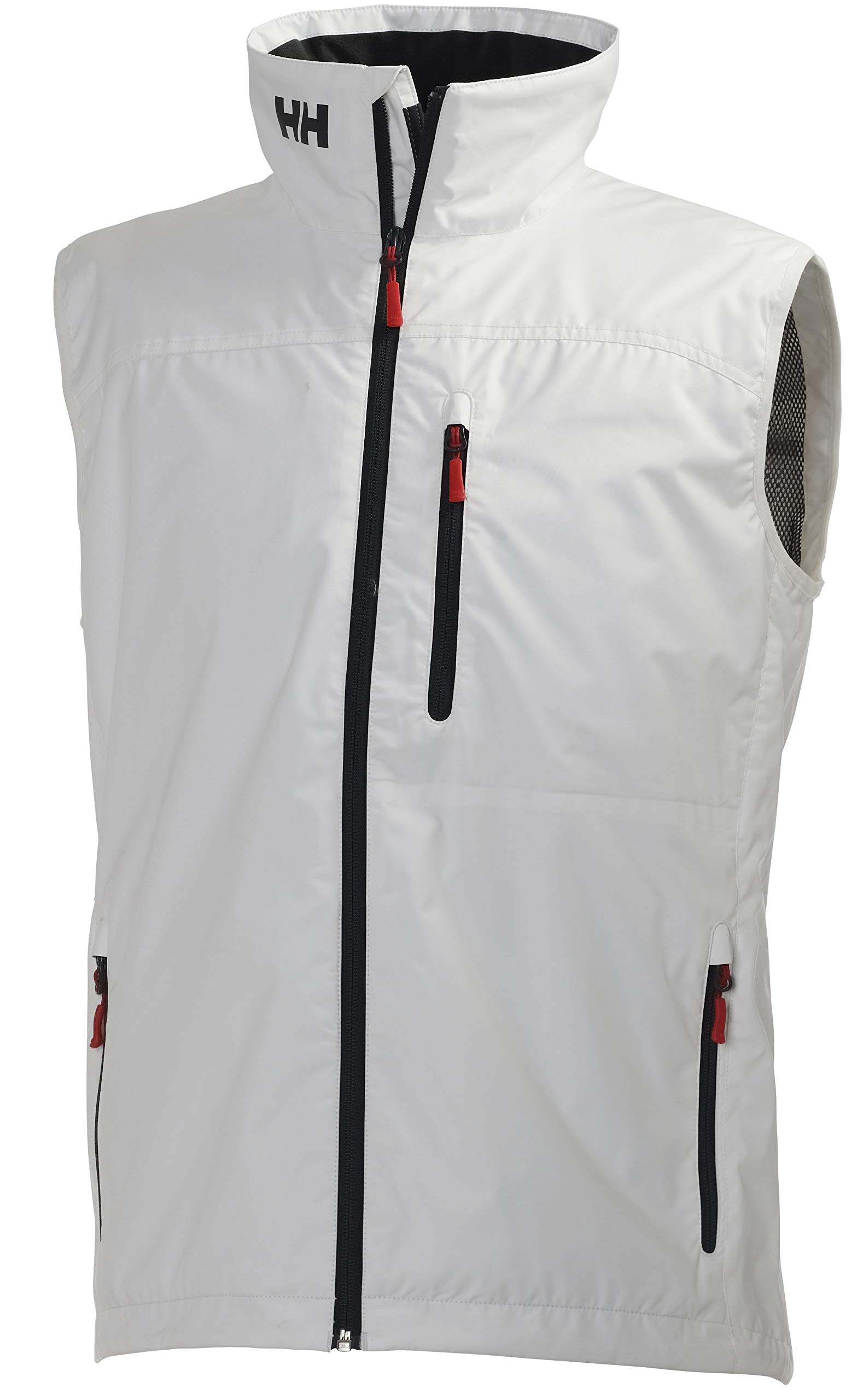 Helly Hansen Men's Crew Vest Waterproof, Windproof, & Breathable Sailing Vest, 001 White, Large by Helly Hansen
