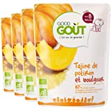 Good Goût - BIO - Tajine de Potiron et Boulgour dès 8 mois 190g - Lot de 4