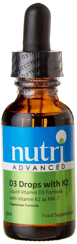 Nutri Advanced Vitamina D3 Gotas con K2: Amazon.es: Salud y cuidado personal