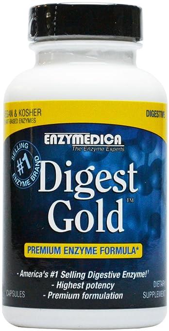 Amazon.com: Enzymedica – digerir oro con atpro – 120 ...