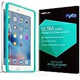 ESR iPad Air/Air2、iPad Pro9.7 フィルム ブルーライトカット 90% 保護三倍強化ガラスフィルム 硬度9H 破裂防止 高透明度 指紋残らない iPad Air/Air2 iPad Pro9.7インチ専用[フィルム貼る枠ゲット]